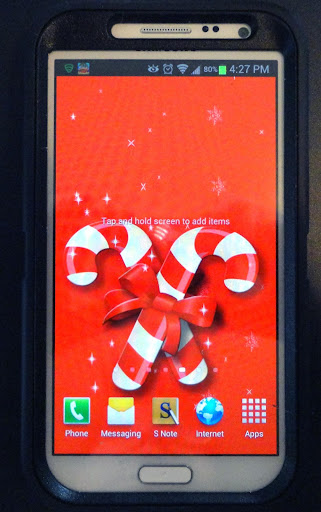 Candy Cane Christmas LWP