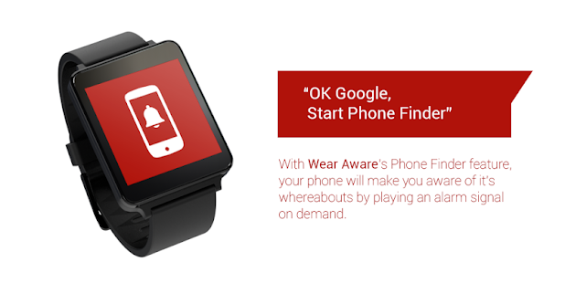 Wear Aware - Phone Finder- screenshot thumbnail