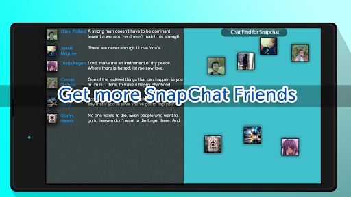 Chat Find for SnapChat 1.086143 screenshots 7