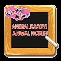Animal Babies & Animal Homes