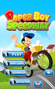 Paper Boy Speedway FREE