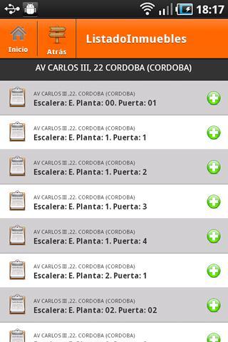 Catastro España: captura de pantalla