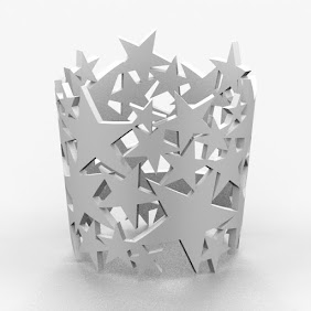 Stars PaperCup Holder