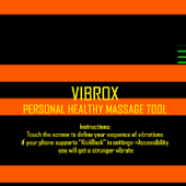 Vibrox: vibrating massage tool