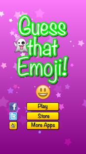 玩免費益智APP|下載Guess that Emoji app不用錢|硬是要APP