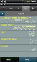 Screenshot of McCal-lite: Scientific Calc