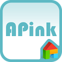 A-pink blue ver dodol theme icon