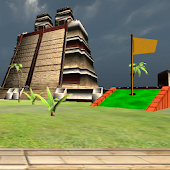 Mini golf game 3D - Aztec