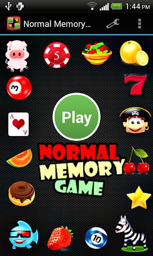 Normal Memory Game