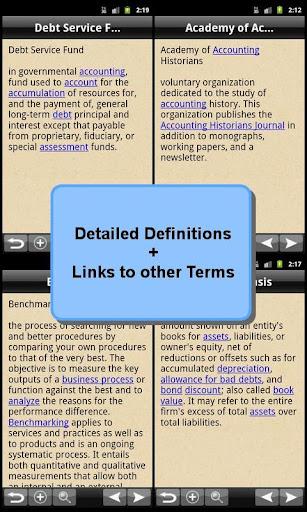 Glossary of Accounting