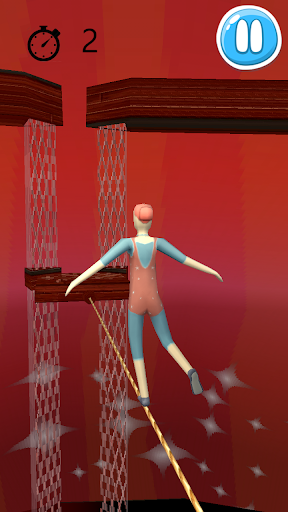 Gymnast Balance 3D
