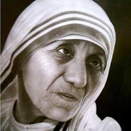 mother by Deo Lumoindong - Drawing All Drawing