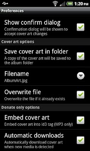 Cover Art Downloader - screenshot thumbnail