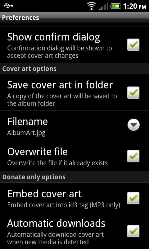 Cover Art Downloader - screenshot