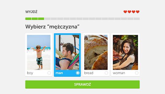 Angielski za darmo z Duolingo – miniaturka zrzutu ekranu