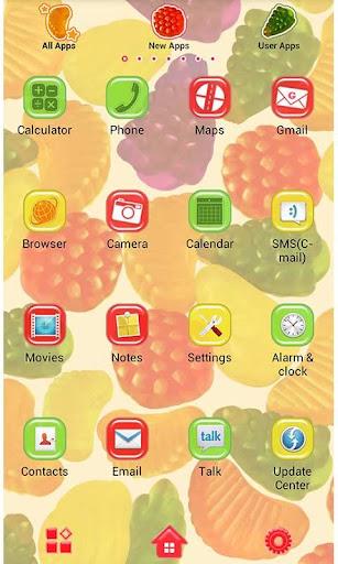 Cute Wallpaper Candy Fruits 1.1 Windows u7528 2
