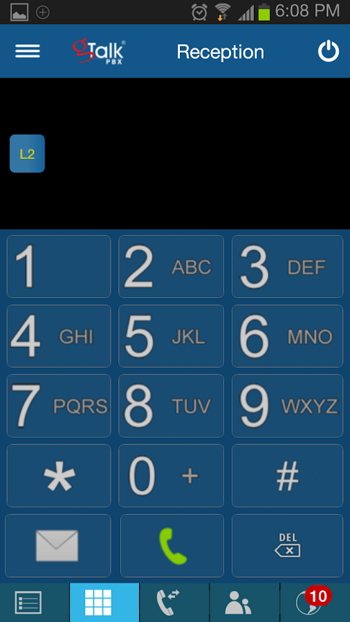 gTalk PBX- screenshot