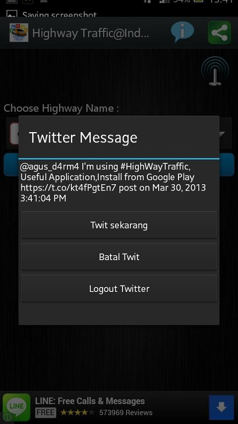 Highway Traffic@Indonesian - screenshot