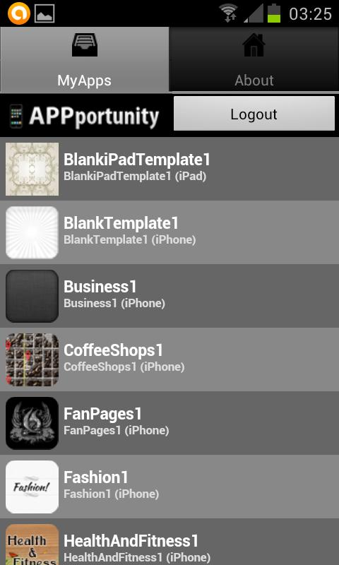 IMSB Android App Previewer - screenshot