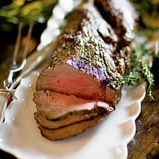 Beef Tenderloin with Port-Beach Plum Reduction