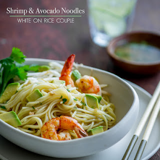 Shrimp & Avocado Noodle Salad.