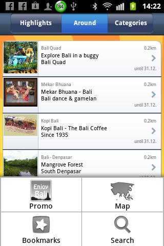 Enjoy Bali- screenshot
