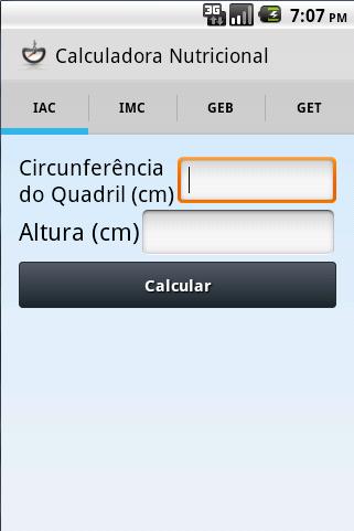 Calculadora Nutricional  screenshots 2