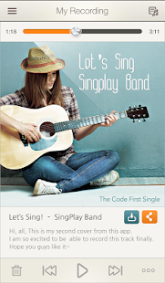 SingPlay: Karaoke your MP3s- screenshot thumbnail