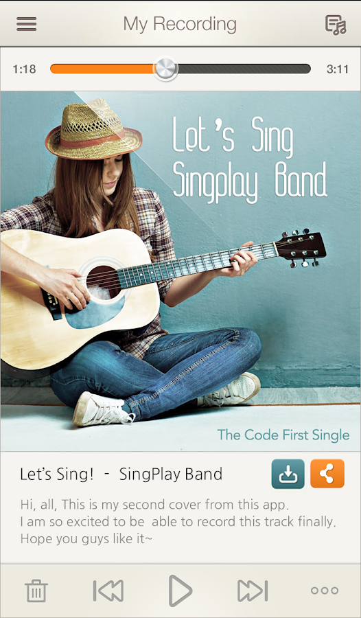 SingPlay: Karaoke your MP3s- screenshot