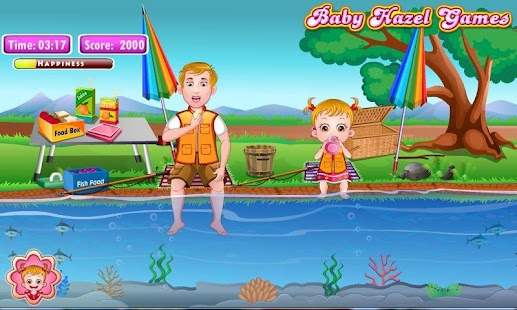 Baby Hazel Fishing Time - screenshot thumbnail