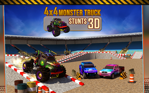 4x4 Monster Truck Stunts 3D