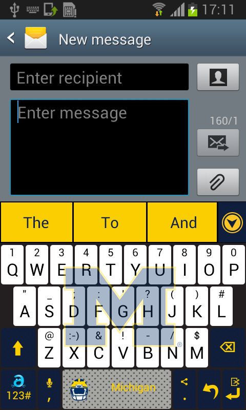 Michigan Keyboard- screenshot