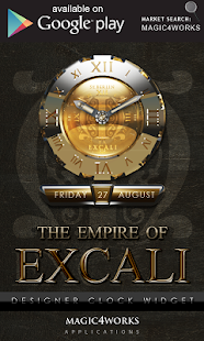 3D excali GO Locker theme - screenshot thumbnail