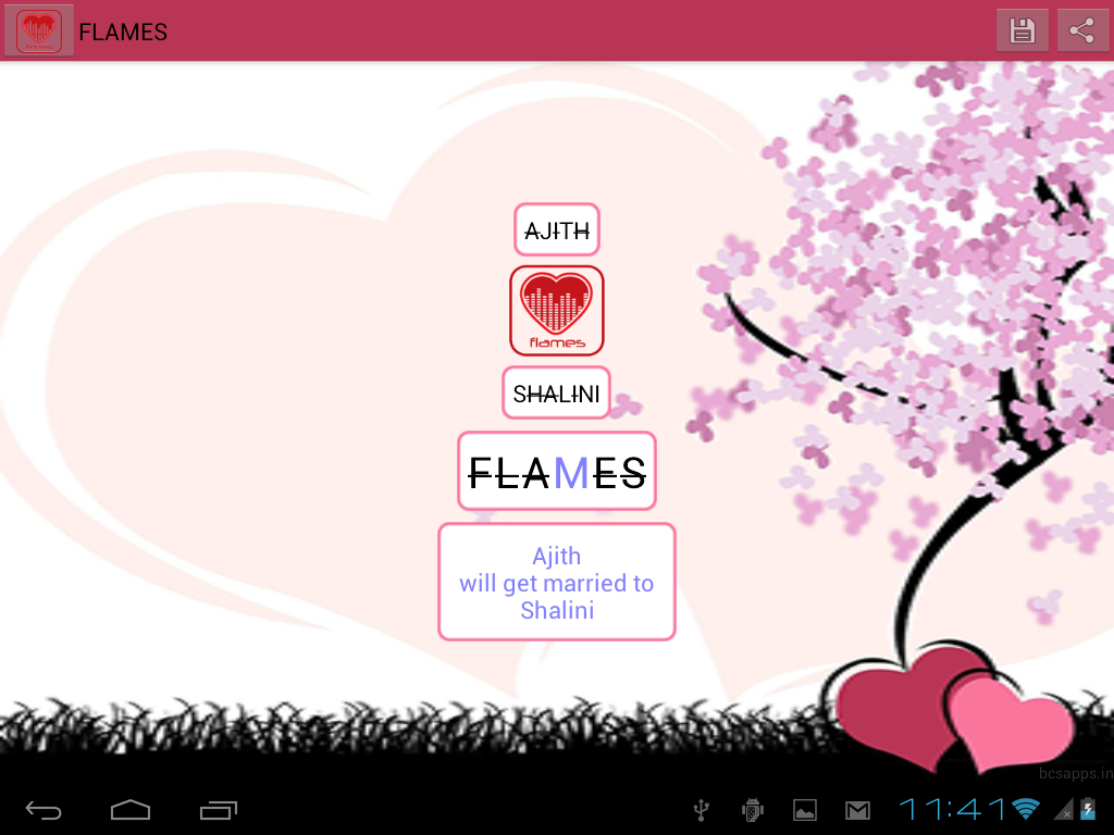 Uncategorized The Love Calculator Game flames love calculator android apps on google play screenshot