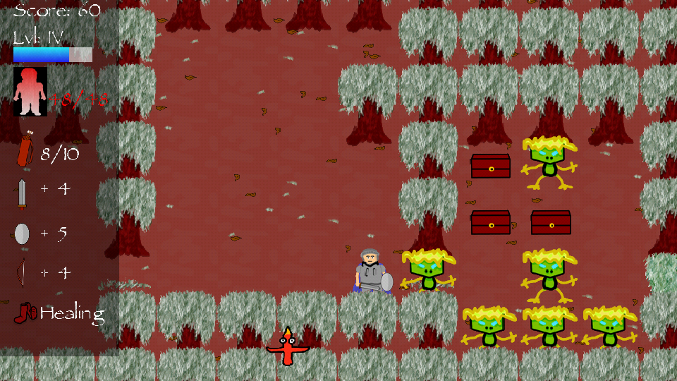 Roguelike Runner- screenshot