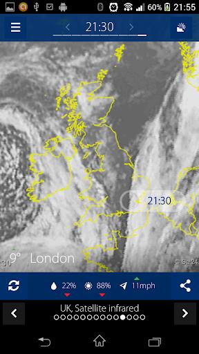 Sat24, Weather satellite  screenshots 1