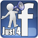 Just 4 Facebook logo