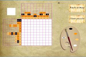 Screenshot of Piccross Adventure Land Free