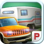Vacation Trailer Parking 3D