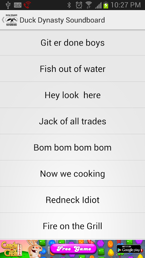 Duck Dynasty Soundboard - screenshot
