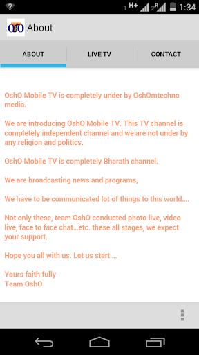 OshO Mobile TV