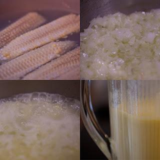 Sweet Corn Chowder.
