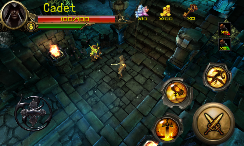 Ninja Adventure Time:Dark Path- screenshot