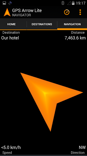 GPS Arrow Navigator LITE  screenshots 4