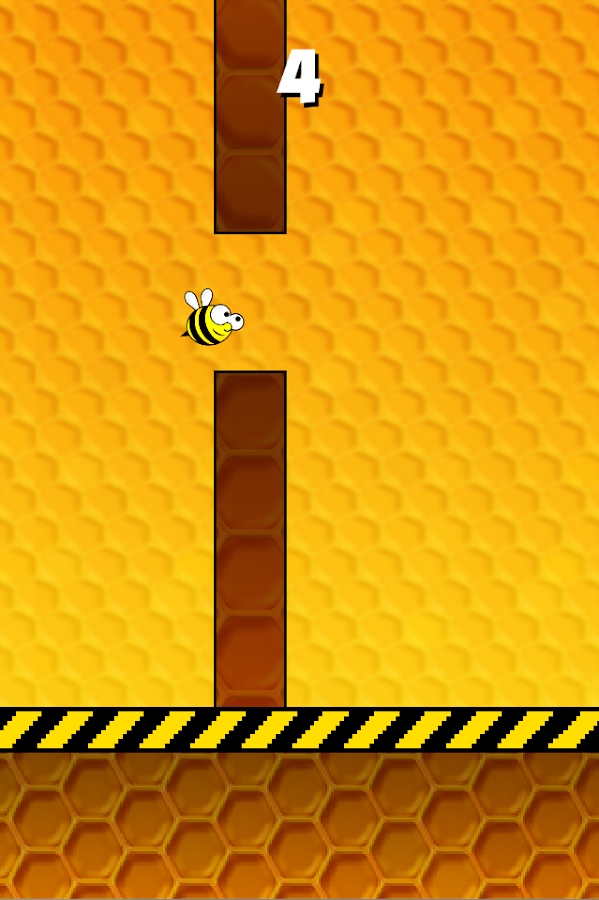 Flappy Bee- screenshot