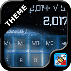 How to install SCalc theme Blue Galaxy 1 02 mod apk for pc