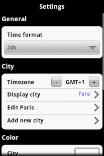Globetimer World Clock 2.3 - screenshot thumbnail