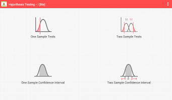 Screenshot of Hypothesis Testing - I [lite]