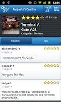 Screenshot of GateGuru, feat. Airport Maps