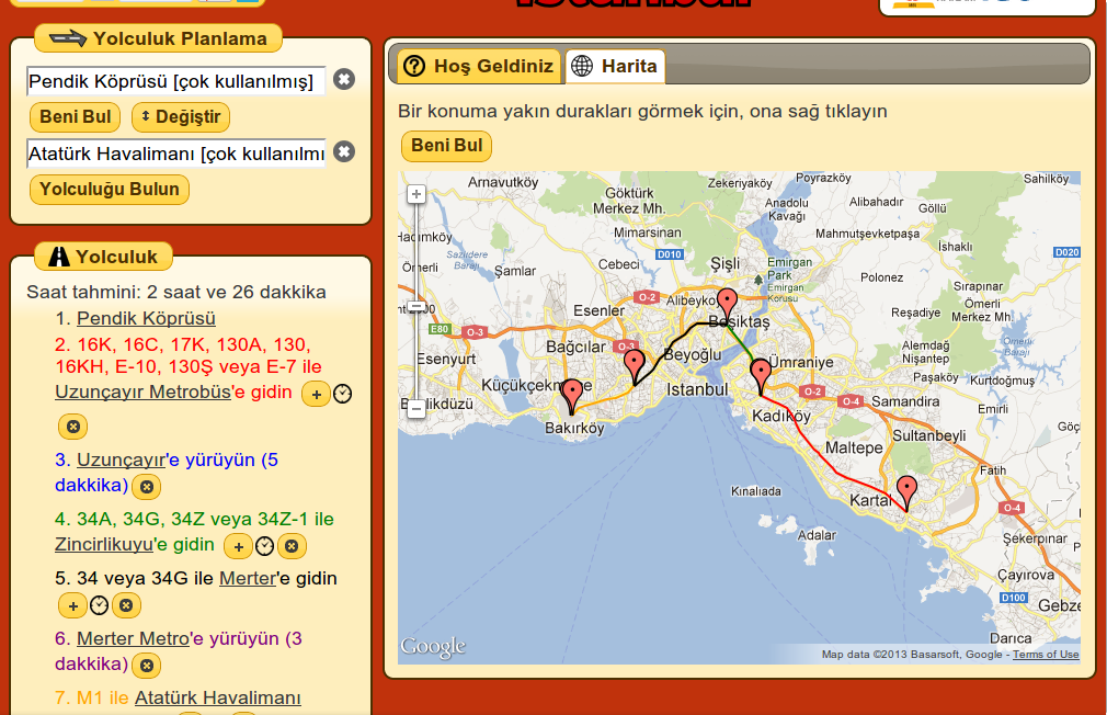 Turkey Journey Planner Android Apps on Google Play – World Map Travel Planner